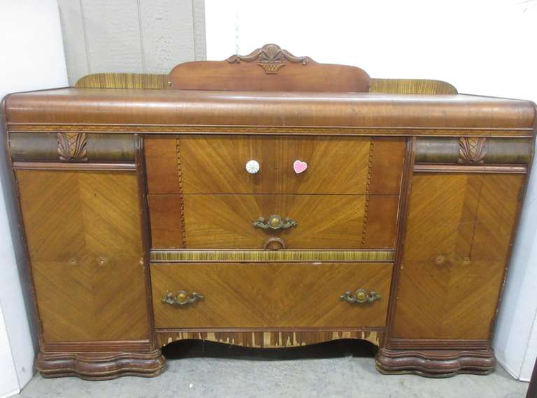 Antique Buffet with Dovetail Joints
