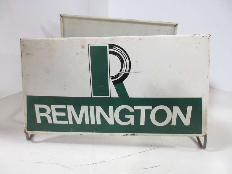 Old Remington Tire Stand