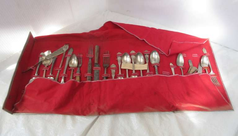 Assorted Antique Flatware