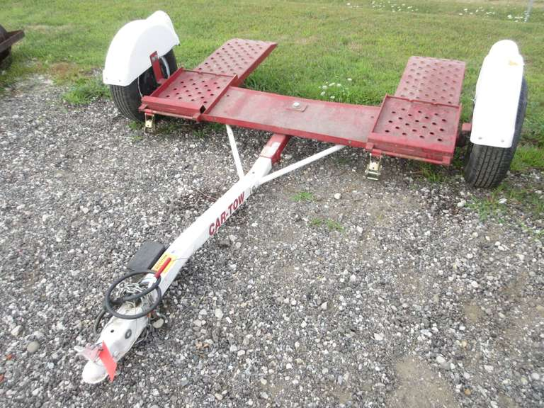 Albrecht Auctions | 2005 Forest River Car Tow Dolly with a