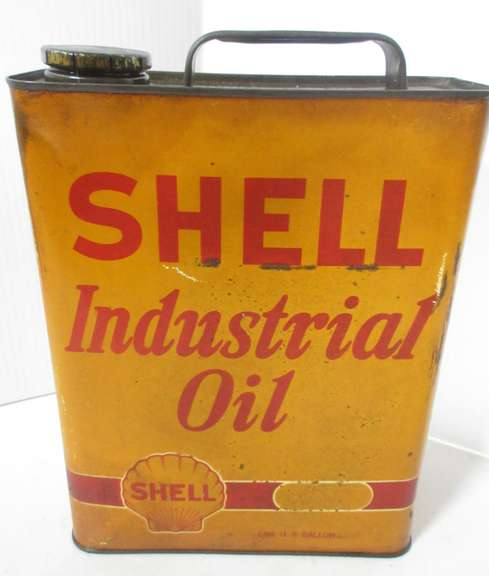 One-Gallon of Shell Industrial Oil