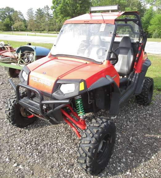 Albrecht Auctions 2009 Polaris Rzr 800 Efi Four Wheeler Includes Lift Kit Metal Roof Wheel Spacers And More 3 547 Actual Miles Vin 4xavh76a49d654021 Title And Key In Office Please Be Advised That