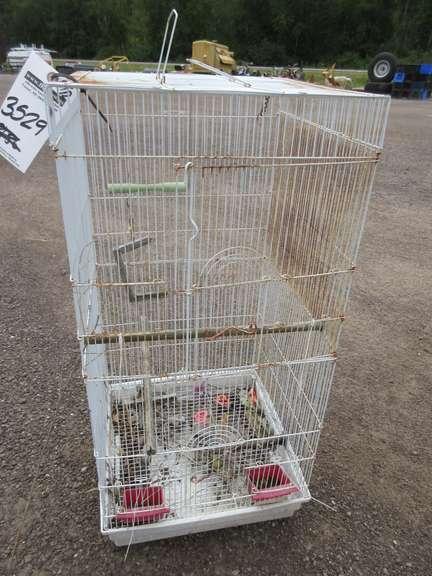 """Bird Cage Die Cut Set of 6 3/"""" H #3544"""
