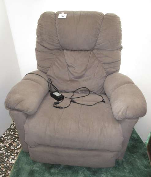 Beige Rocker with Power Recline, By Best Chairs of Indiana, It is NOT a Lift Chair, Works, Could Use Cleaning