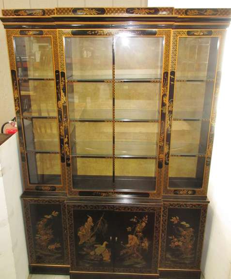 """Et Cetra"" by Drexel, Asian Themed China Cabinet"