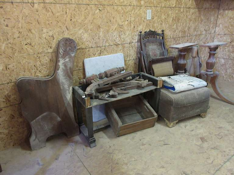 Group of Antique Furniture and Related