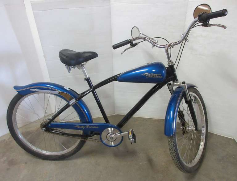 Harley Davidson GT - Velo Glide Blue Bicycle, Bought and Built in 1998, Rare great condition