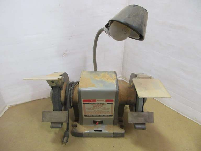 Fine Albrecht Auctions Craftsman 1 3 Hp Bench Grinder 1 2 Pdpeps Interior Chair Design Pdpepsorg