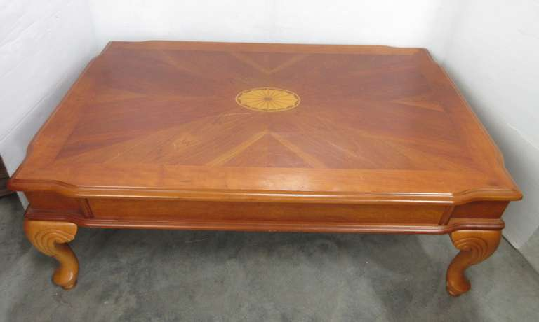 Solid Wood Coffee Table, Made in Kentucky