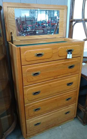 Five-Drawer Dresser, Made in USA