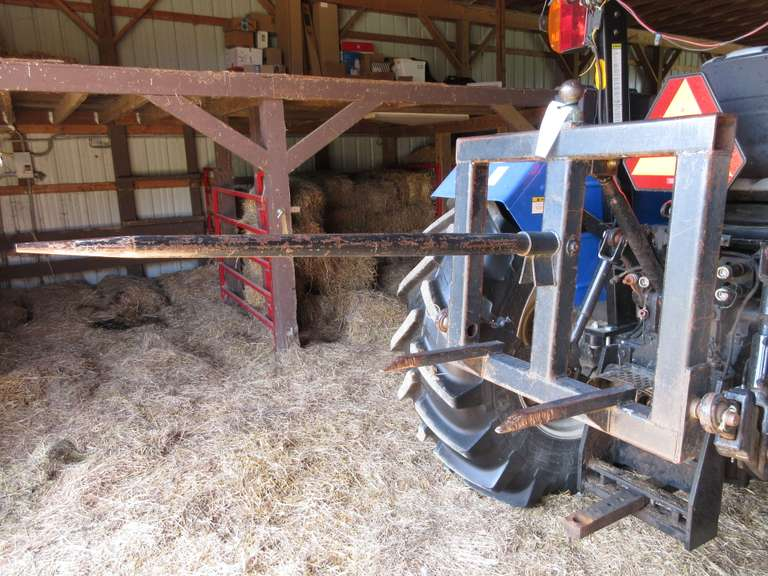 Rear 3-Point Hitch Hay Spear