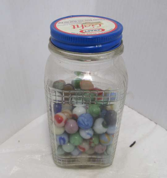 Jar of Antique Marbles