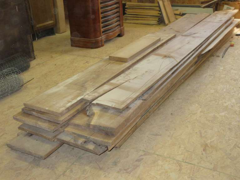 "Group of Walnut, Most are 9"" or 10"" Wide x 3/4"" Thick Approx. 170 Linear Ft"