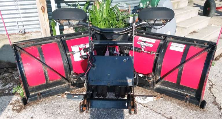 "2013 Boss V-Plow 8'2"", Poly V Smart Shield, Comes with Controller, Residential Plow Only, Second Owner, Great Condition"