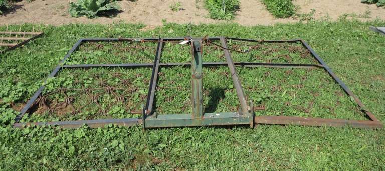 3-Point Hitch Drag, 10' x 7', Good Condition