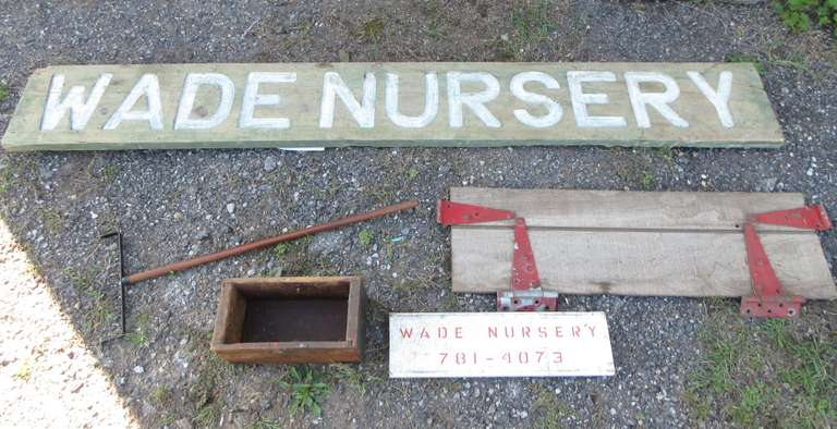 (2) Nursery Signs, Small Tailgate, and More, Large Sign- 7'L x 11""