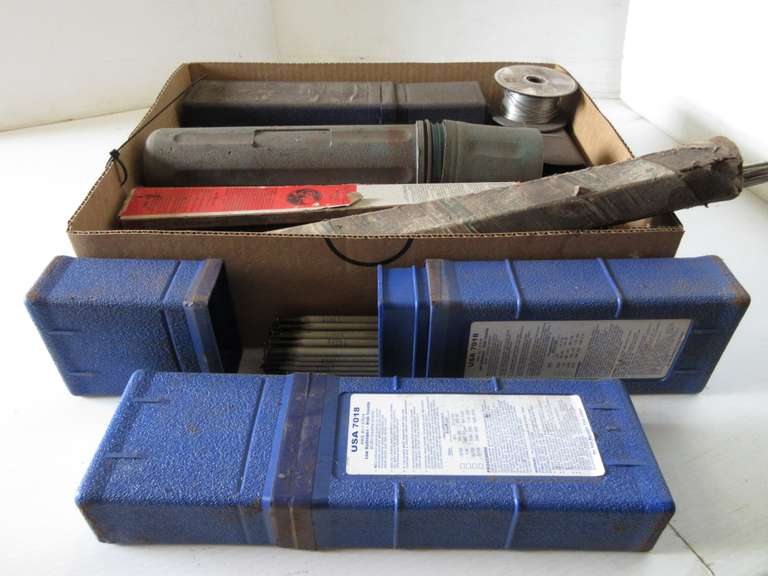 Group of Assorted Welding Rods, and More