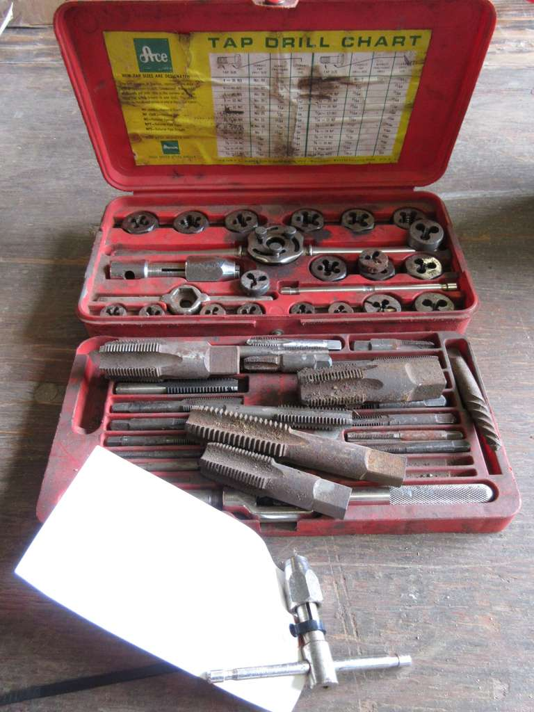Group of Taps and Dies, (2) Sets, As Is