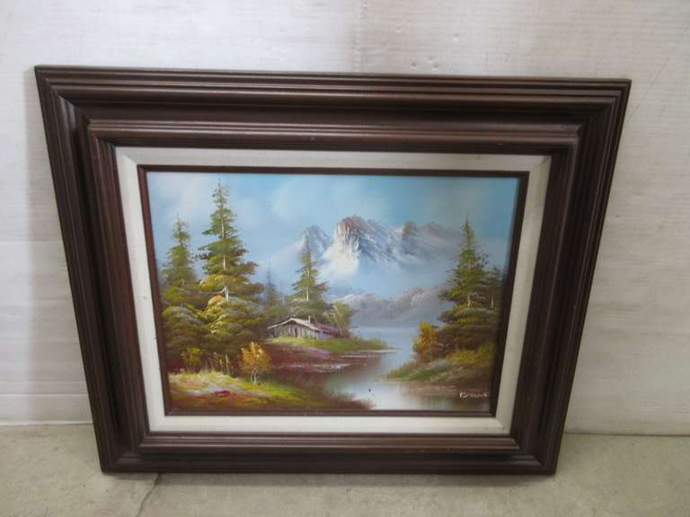 Oil Painting, Signed by Artist