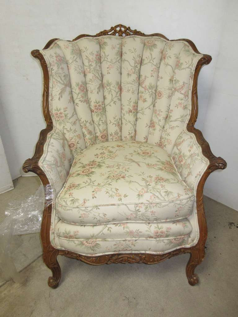 Upholstered Chair, Matches Lot No. 27
