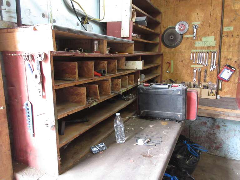 Misc. Contents of Cabinets, Work Bench Contents, and Misc. Wall Contents, Include: Metric Wrench, Wire Wheels, Abrasive Blades, and More