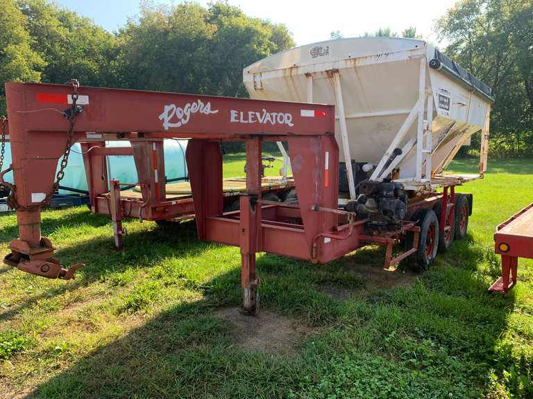 October 9th (Wednesday) - Rogers Elevator Online Liquidation Auction