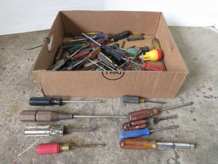 Large Group of Misc. Screwdrivers