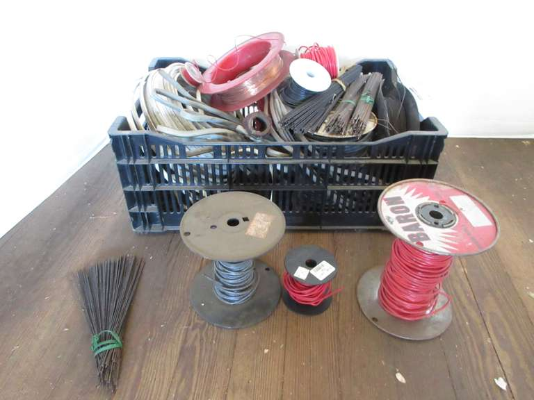 Group of Assorted Wire