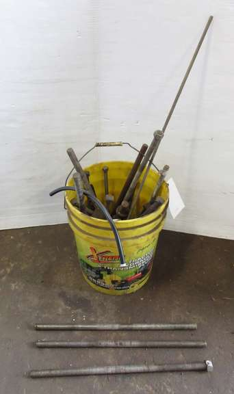 "Bucket Full of Threaded Rod, Up to 3/4"" x 20""L"