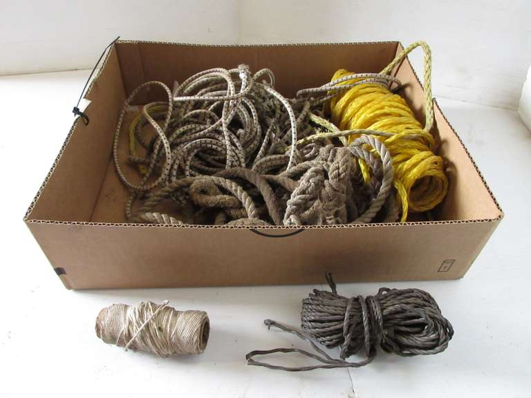 Group of Rope and String