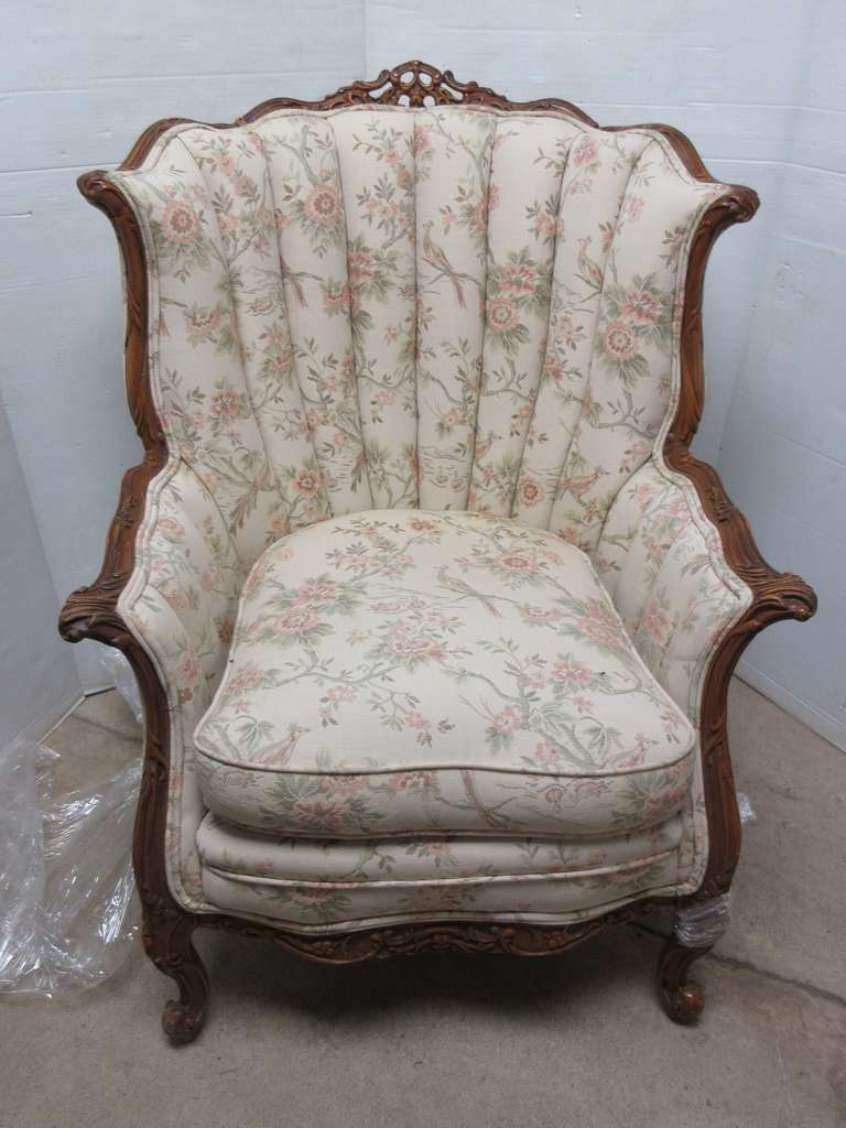 Upholstered Chair, Matches Lot No. 28