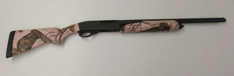 "Remington 870 Pink Youth 20-Gauge, 21"" VR Modified Choke Tube Drilled & Tapped For Optics"