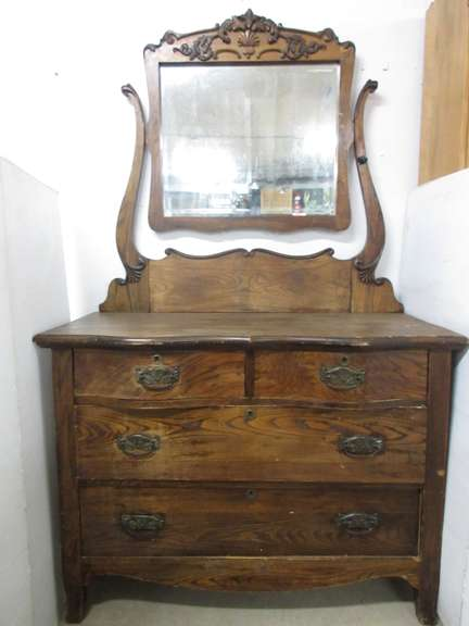 Antique Four-Drawer Dresser