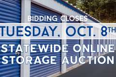 Online storage auctions near me