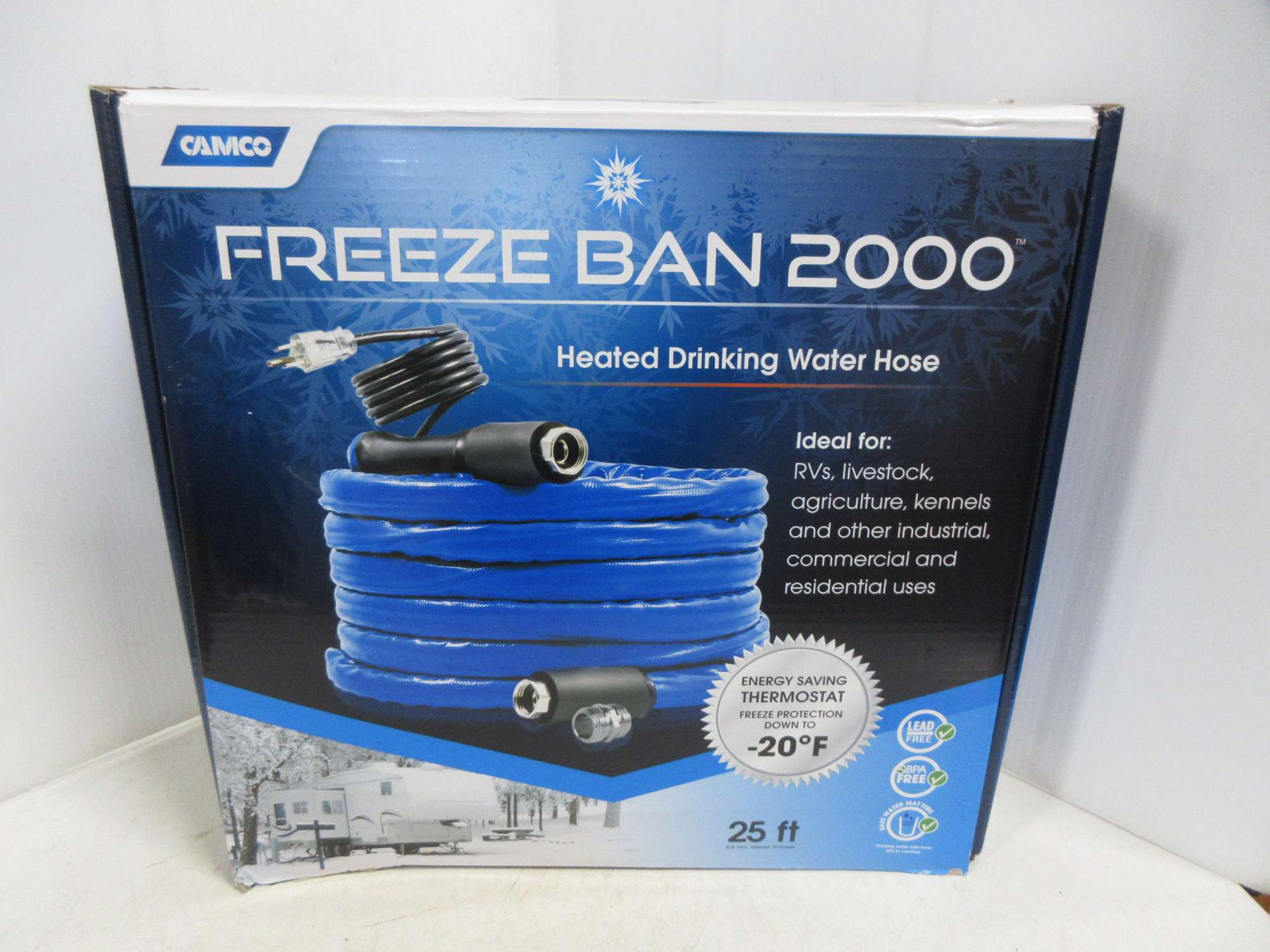 Albrecht Auctions Camco Freeze Ban 2000 Heated Drinking Water Hose