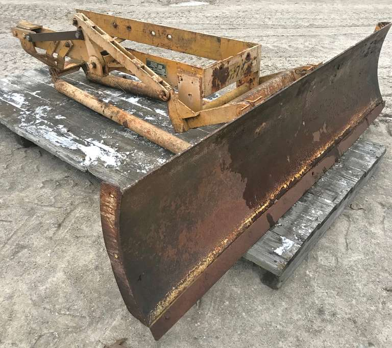 "Duz-All Dozer Blade, 20"" Frame Width, Was on a John Deere 4020, Will Fit Up to a John Deere 4230"