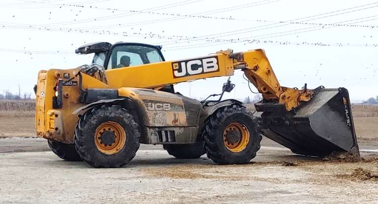 2012 JCB 550-80, (7850 Hours), Bucket NOT Included, Still in Use for a Few Weeks