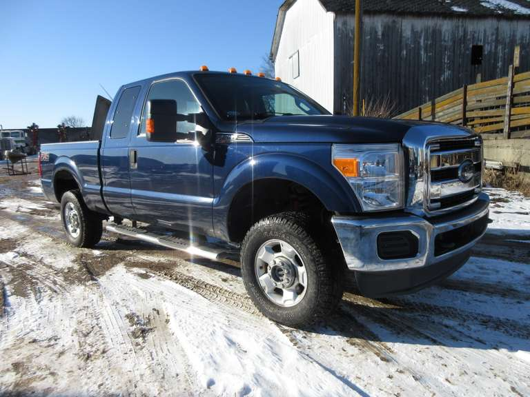 2012 Ford F-250 Super Duty 4WD Extended Cab Pickup, 6.2 Liter Engine, (131,000 Miles), VIN 1FT7X2B64CEB66018, Tow Package, Flex Fuel.  Note:  A video of this item can be viewed.  Click on the Thumbnail photo, locate the picture with the play tab, click play to watch video.
