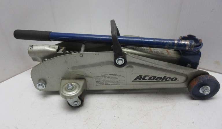 Albrecht Auctions Ac Delco Floor Jack 2 Ton