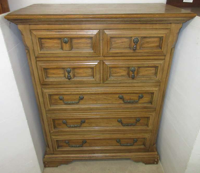 Thomasville Five-Drawer Wood Dresser