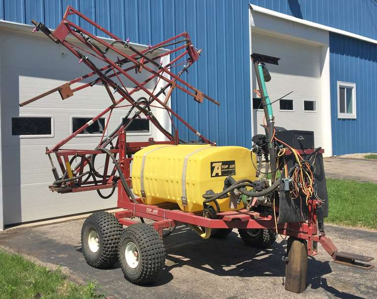 Top-Air ATV Sprayer, 45' Booms with 150-Gallon Tank, Honda Engine