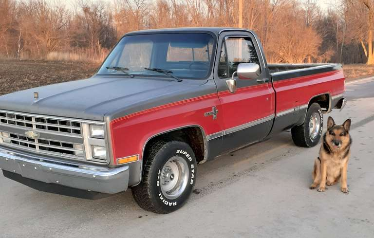 1987 Chevrolet Pickup, (106,000 Miles), 5.0 Auto Transmission, A/C, AM/FM, Very Little Rust, Very Clean, Has been in Dry Shed Since 2008, Clean and Clear Title