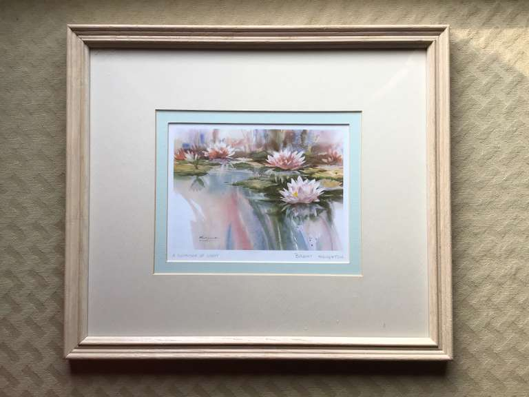 Framed and Matted Print, 'A Shimmer of Light'