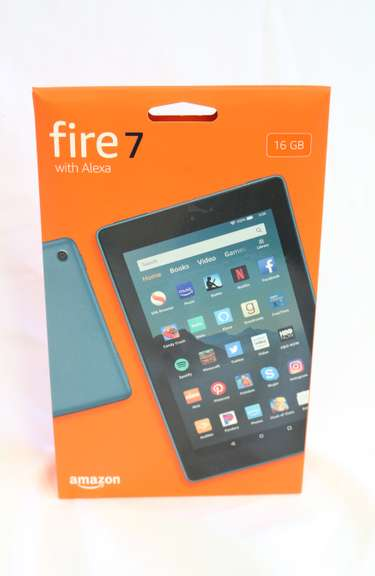 16 GB Amazon Fire 7 with Alexa Tablet