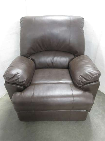 Brown Rocker Recliner, Imitation Leather