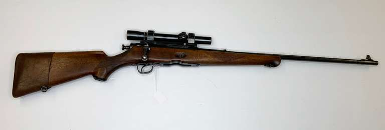 Savage .30-06 Springfield Bolt Action Rifle with Case and 2x5 Weaver Scope