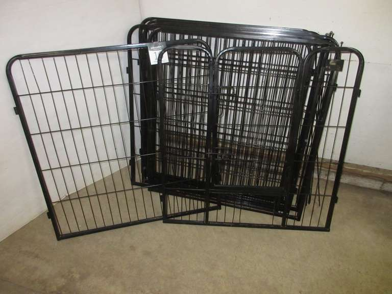 Eight-Panel Pet Pen
