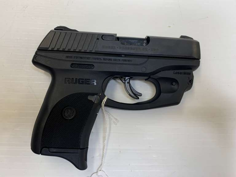 "Ruger LC9s 9mm Pistol, with 3"" Barrel, Laser Sight, and Spare Magazine"