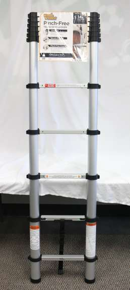 World's Greatest 14' Aluminum Type II Telescopic Ladder