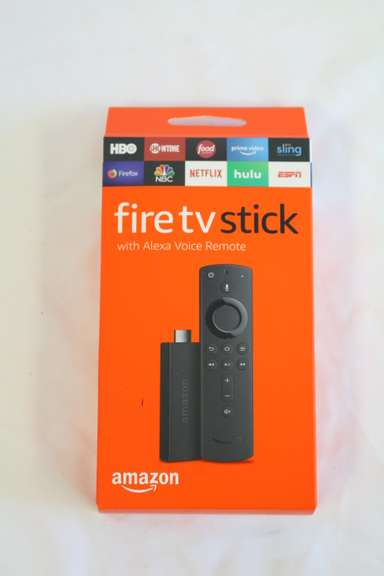 Amazon Fire TV Stick with All-New Alexa Voice Remote and Streaming Media Player